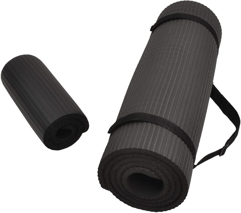 yoga mat 1 2 inch extra thick