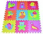 Zoo Puzzle Play Mat 9-tile EVA Foam Rainbow Floor by Poco Di