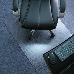 Large Office Chair Mat Floor Carpet Protector Clear Transpar