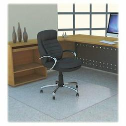 "Lorell LLR69704 Polycarbonate Rectangular Chair Mat, 7.09"" H"