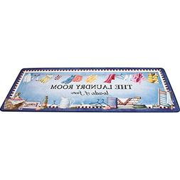 Collections Etc Loads of Fun Laundry Room Floor Mat