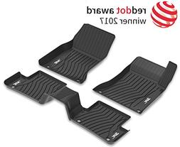 3W Mercedes Benz GLC Floor Mats Set  - All Weather Heavy Dut
