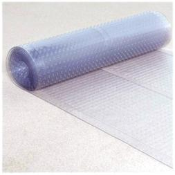 Ottomanson Multi Grip Ribbed Clear Runner Rug Carpet Protect