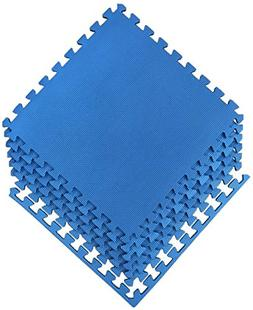 Ottomanson Multipurpose Interlocking Puzzle Eva Foam Tiles-A