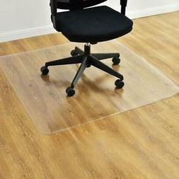 "New 48"" x 48 "" PVC Office Chair Floor Mat Home Protector For"