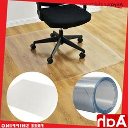 """NEW 48"""" x 60"""" PVC Chair Floor Mat Home Office Protector For"""