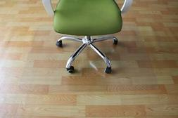 "New 59"" x 48"" PVC Chair Floor Mat Home Office Protector For"