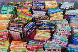 New Bundle Lot of 10 fat quarters No Duplicates 100% Cotton