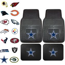 NFL Pick Your Team Car Truck Front Back All Weather Heavy du