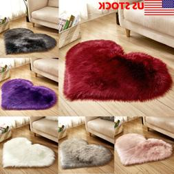 New Room Fluffy Area Rug Plush Anti-skid Living Carpet Soft