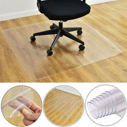 Nonslip PVC Protector Clear Chair Mat Home Office Rolling Ch