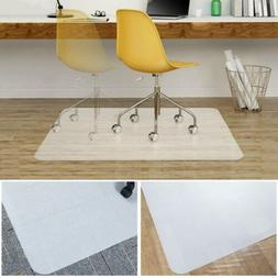 Office Chair Mat 35''x47'' Clear Polycarbonate Heavy Duty Ca