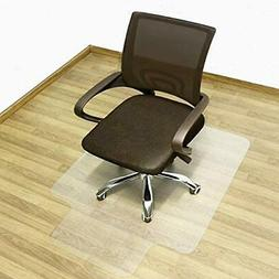Office Desk Chair Mat for Hard Wood Floor PVC Clear Protecti