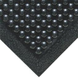 Outdoor/ Indoor Black Bubble reduce fatigue rubber Floor Mat