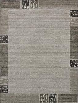 Over-dyed Modern Vintage Rugs Light Gray 10' x 13' FT Palma