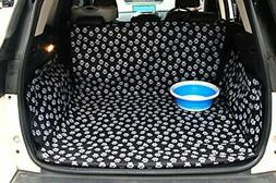 Oxford Pet Car Suv Van Back Trunk Cargo Bed Liner Cover Wate