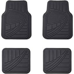 AmazonBasics Piece Car Floor Mat, Black