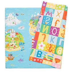 Baby Care Play Mat Foam Floor Gym Magical Islands Large