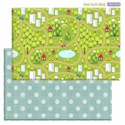 Baby Care Play Mat Foam Floor Rug - Country Town
