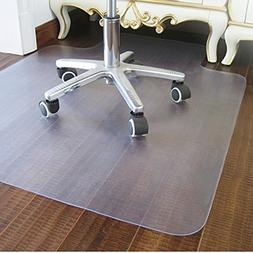 """Marvelux 36"""" x 48"""" Polycarbonate  Rectangular Chair Mat for"""