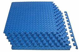ProsourceFit Puzzle Exercise Mat, EVA Foam Interlocking Tile