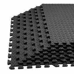 72sq ft Puzzle Gym Soft Eva Foam Floor Interlocking Mat Tile