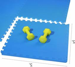 puzzle home gym floor cover mat tiles