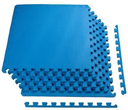 Puzzle Mat Workout Gym Fitness Floor Exercise Interlock Tile