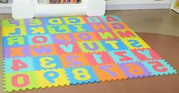 Puzzle Play Mats, Soft Foam Interlocking Floor Mats 26-Piece