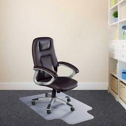 "48"" x 36"" PVC Home Office Chair Floor Mat with Nail for Prot"