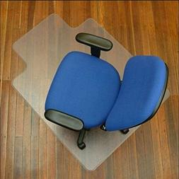 "Fashion 48""x 36"" PVC Home Office Chair Floor Mat For Wood Ti"