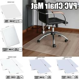 PVC Home Office Rolling Chair Mat for Protector Carpet/Wood