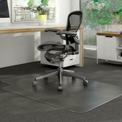 PVC Matte Desk Office Chair Floor Mat Protector for Hard Woo
