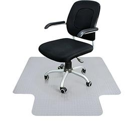 """Super Deal Upgraded 48"""" X 36"""" 1/8"""" Heavy Duty Carpet Chair M"""