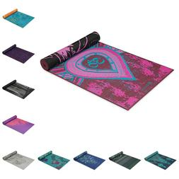 reversible fitness mat extra thick exercise printed