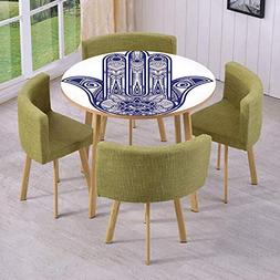 iPrint Round Table/Wall/Floor Decal Strikers/Removable/Arabi