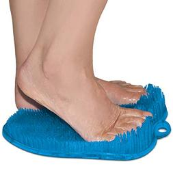 Shower Foot Scrubber with Non Slip Suction Cups - Massager M