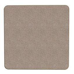 Skid-resistant Carpet Area Rug Floor Mat - Pebble Beige - 2'