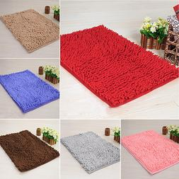 Soft Shaggy Area Rug Dining Room Home Bedroom Carpet Anti-Sk