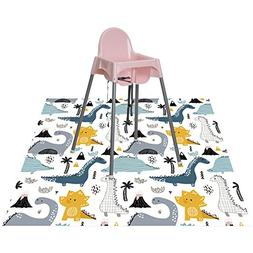 Splat Mat for Highchair for Babies and Toddlers