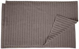 Superior Striped Bath Mat 2-Pack, 100% Combed Cotton, Luxury