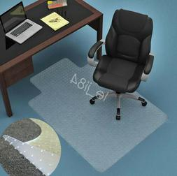 Thick Home Office Chair Mat Protector Cover Studded Carpet F