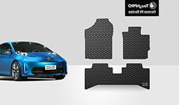 ToughPRO Toyota Prius C Floor Mats 3-pc Set - All Weather -