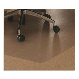 Cleartex Ultimat Rectangular Chair Mat, Clear Polycarbonate,