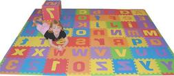 Uppercase and Lowercase 72 Sq. Ft. 'We Sell Mats' Alphabet a