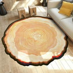 US Geode Rock Floor Rug Dining Living Room Bedroom Carpet Fl