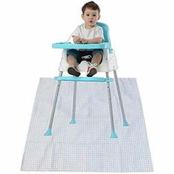 Washable Baby Accessories Splat Mat For Under High Chair Ant