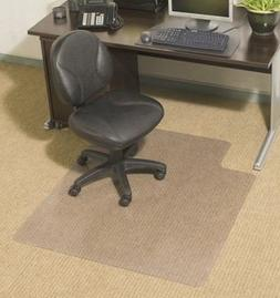"Chair Mats 60"" x 72"" without Lip for Carpeted Floors - Premi"