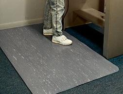 AliMed Workers-Delight Anti-Fatigue Mat, 2'Wx3'L, Black